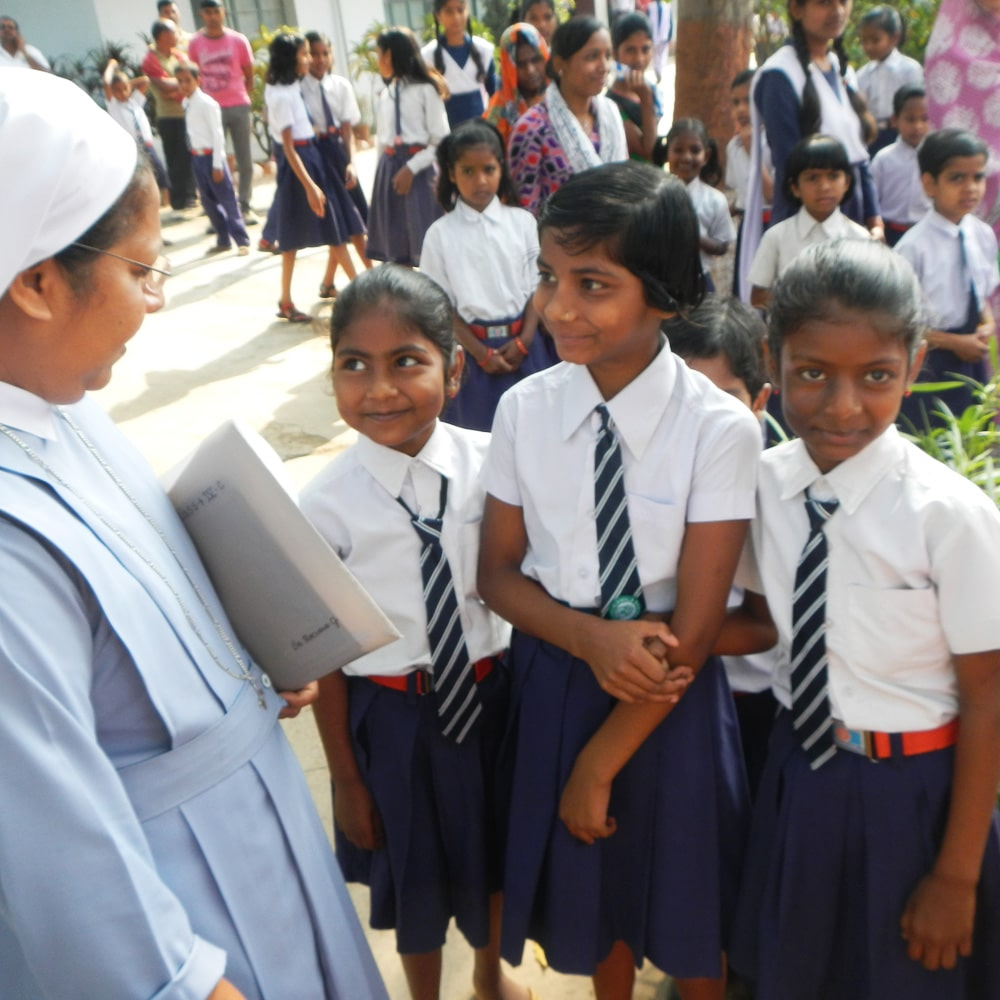 Bildung eröffnet Zukunftsperspektiven - EAC unterstützt den Förderverein Schwester Modesta Hilfe Indien e.V.