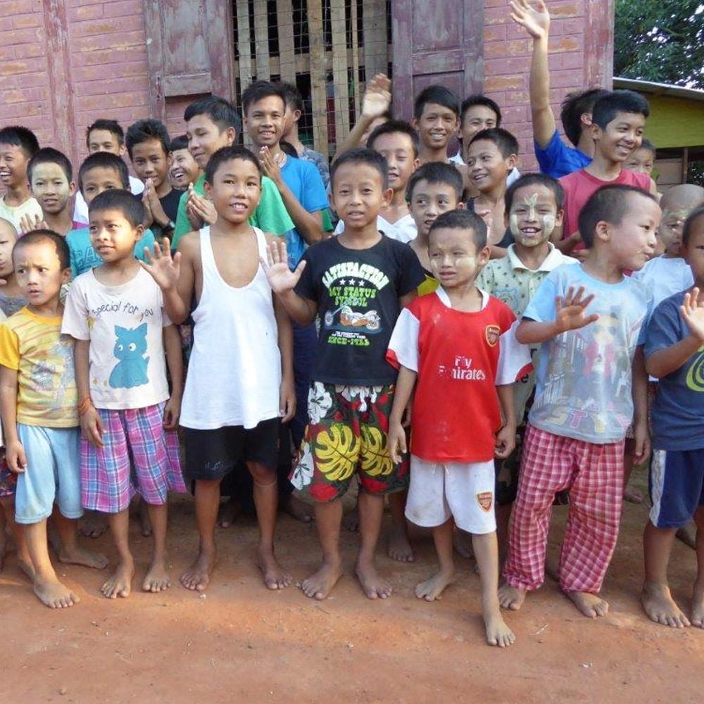 Nachhaltige Zusammenarbeit in Myanmar - damit Kinder eine Chance auf Bildung haben
